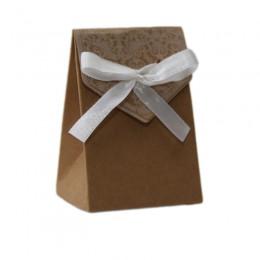 Caixa de Papel Rendada