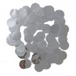 Confete Laminado Prata 15gr