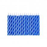 Vela Palitinho Azul 6cm com 16un