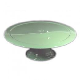Boleira de Metal Verde Claro 31x12,5cm